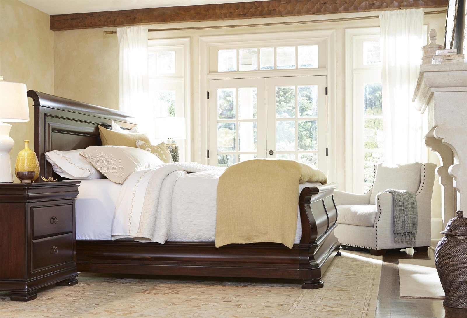 Best Universal Furniture Reprise 4Pc Sleigh Bedroom Set In With Pictures