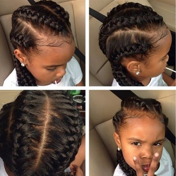Free 75 Easy Braids For Kids With Tutorial Wallpaper