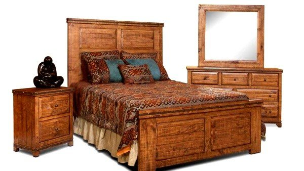 Best Westwood Queen Bedroom Set Richmond Rustic Furniture With Pictures