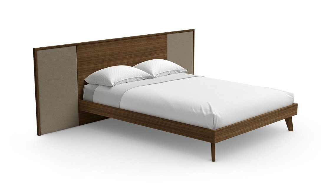 Best Monza Bed Contemporary Bedroom Modern Furniture Pieces Sklar Furnishings With Pictures