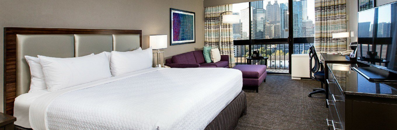 Best Midtown Atlanta Hotel Suites Crowne Plaza Atlanta With Pictures