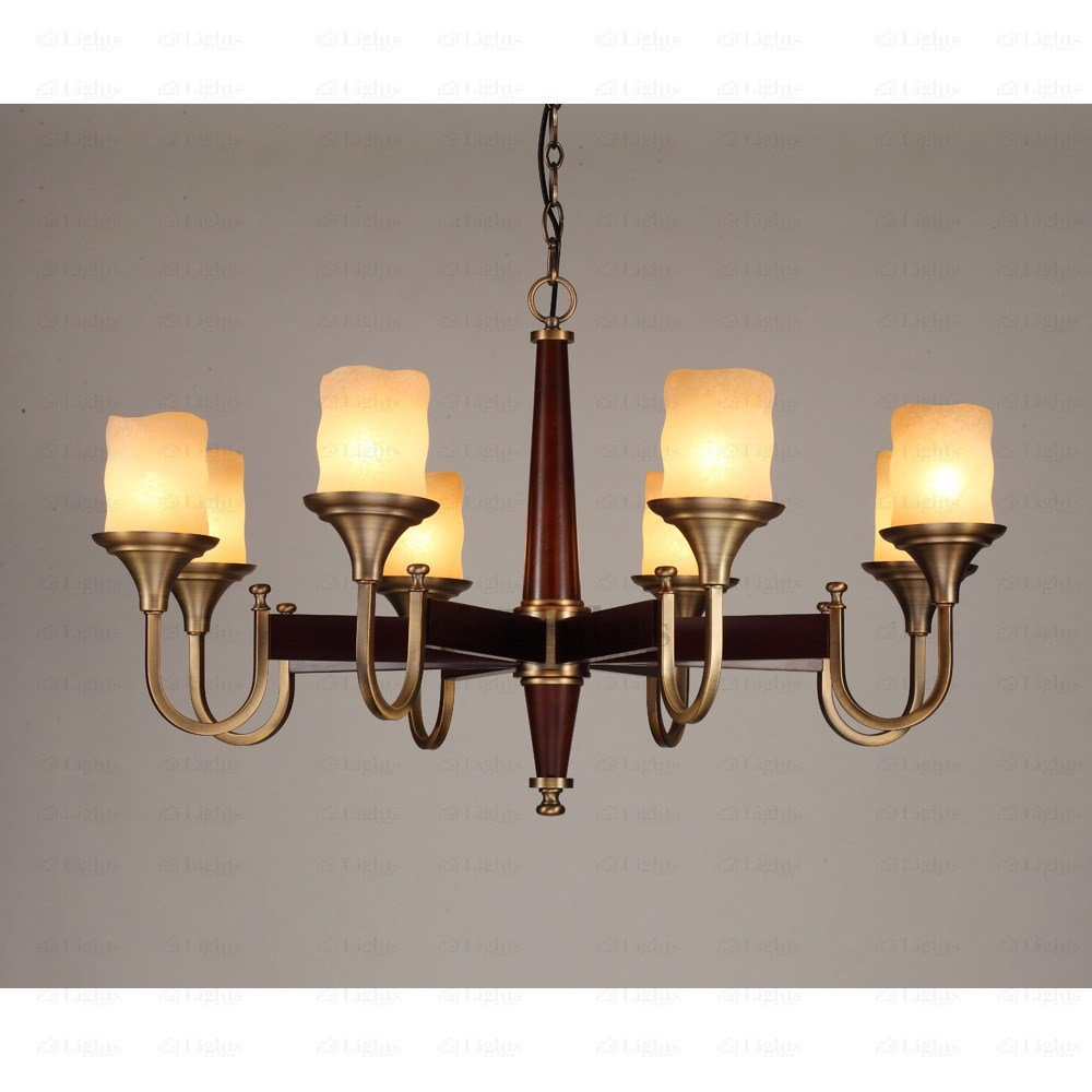 Best Unique 8 Light Glass Shade Bedroom Chandeliers With Pictures