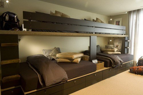 Best 15 Cool Bunk Bed Designs For Four Kids With Pictures