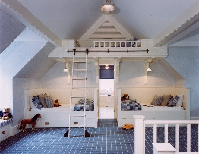 Best 16 Cool Attic Kids Bedroom Ideas With Pictures