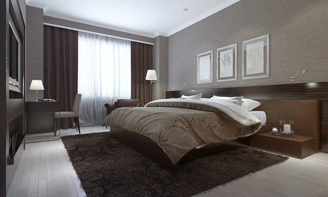 Best 30 Absolutely Awesome Brown Bedroom Ideas That You Have To With Pictures