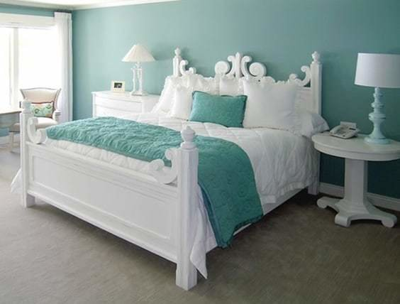 Best 41 Unique And Awesome Turquoise Bedroom Designs The With Pictures
