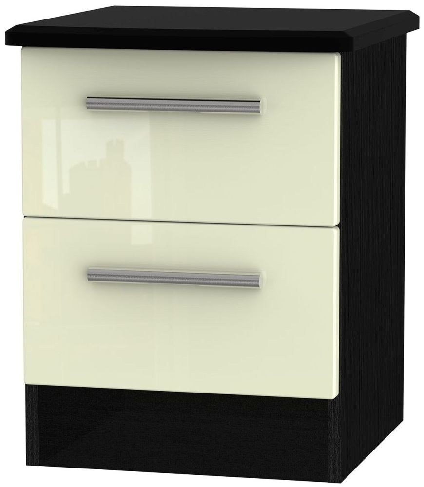 Best Kensington High Gloss Cream And Black Furniture Sale With Pictures