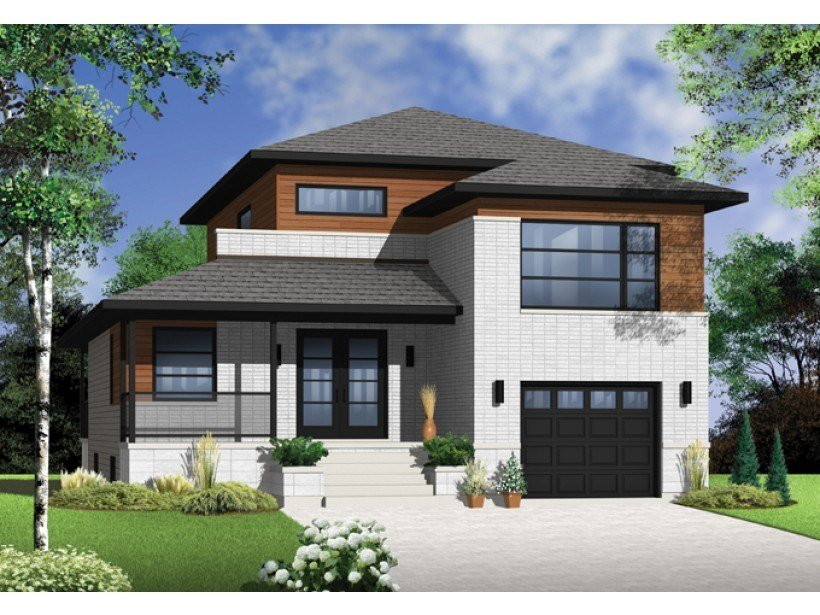 Best 3 Bedroom Modern House Plans Picture — Modern House Plan With Pictures