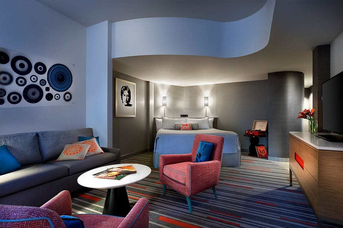 Best Deluxe 2 Bedroom Suites At Hard Rock Hotel® At Universal With Pictures