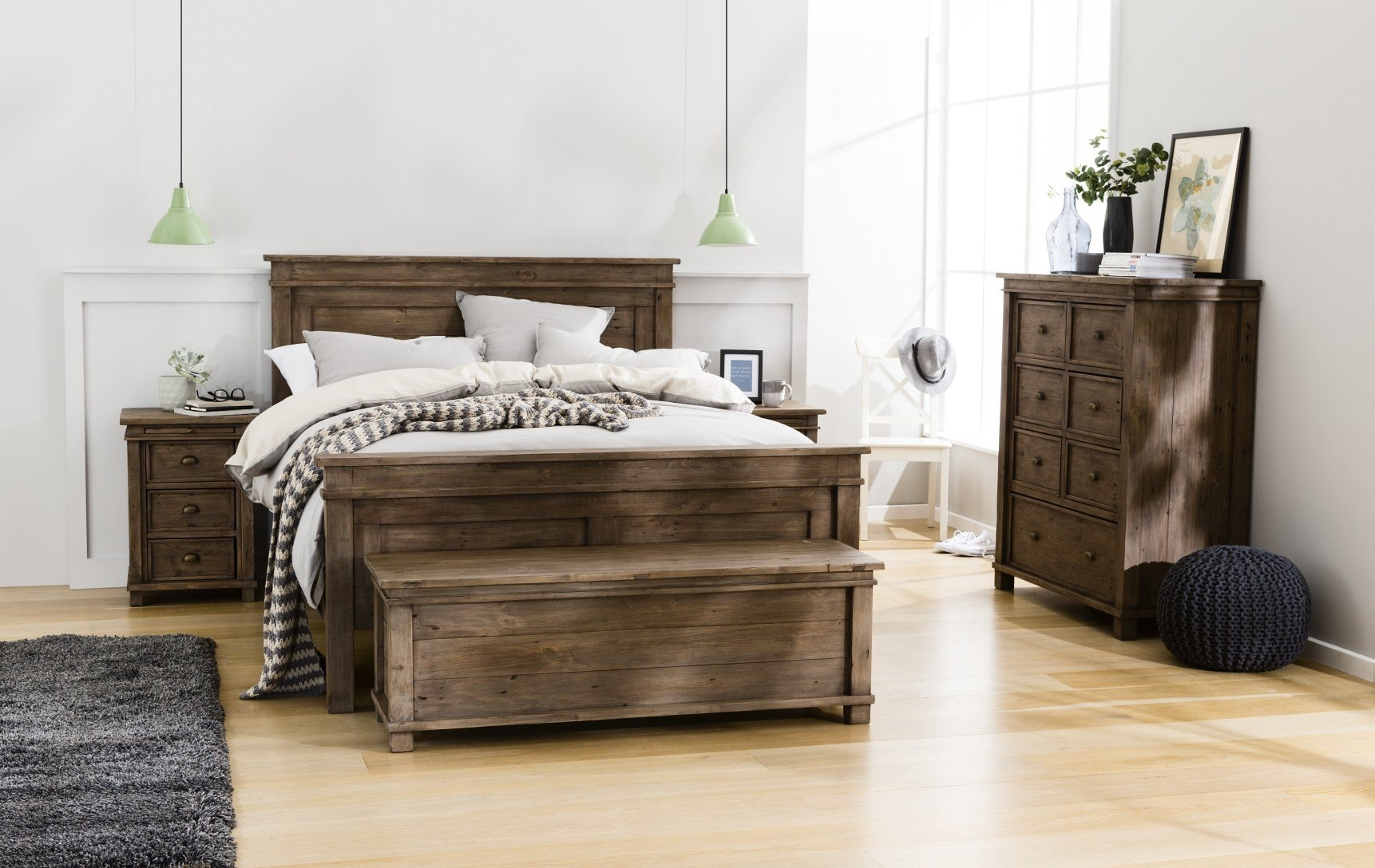 Best Settler Bed Frame Sun Dried Ash Bedroom Furniture With Pictures
