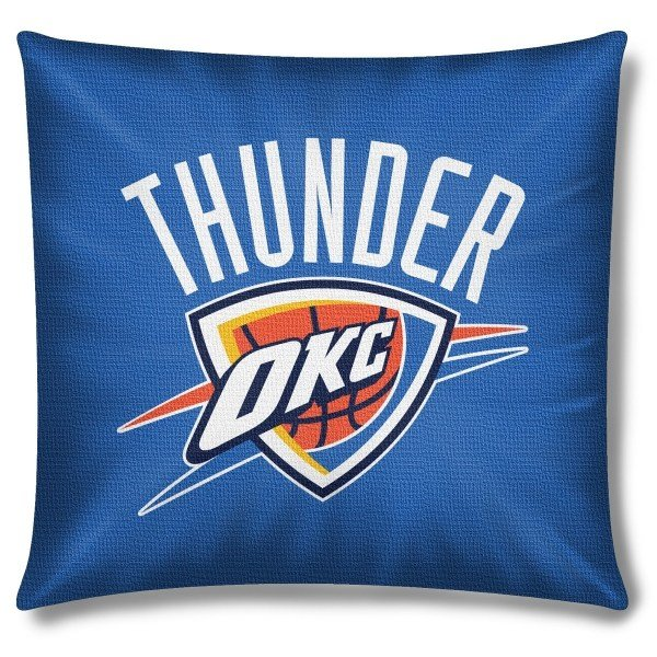 Best Oklahoma City Thunder Nba 18 X 18 Cotton Duck Toss Pillow With Pictures