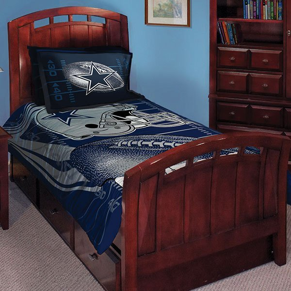 Best Dallas Cowboys Nfl Twin Comforter Set 63 X 86 With Pictures