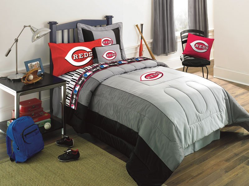 Best Cincinnati Reds Mlb Authentic Team Jersey Bedding Twin With Pictures