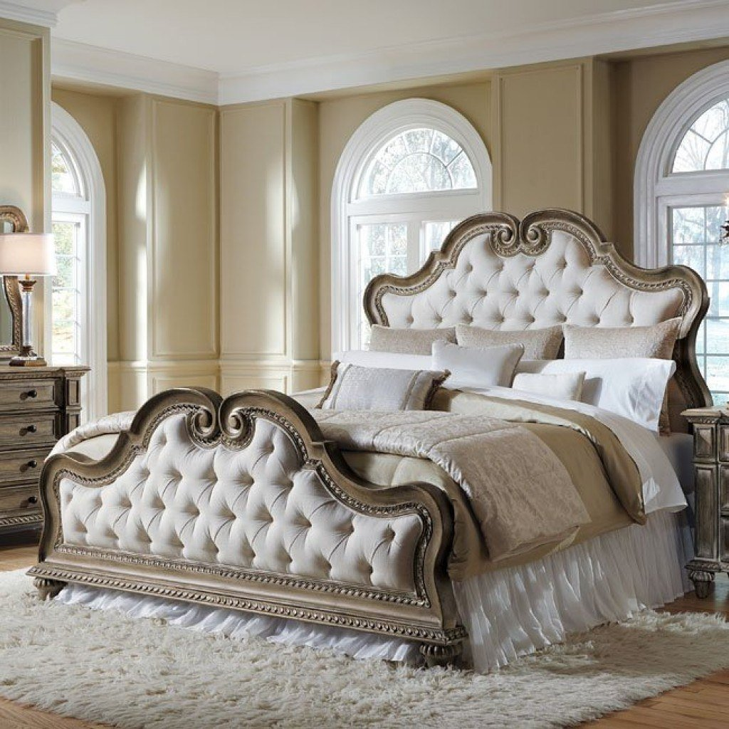 Best Accentrics Home Arabella Upholstered Bedroom Set Pulaski With Pictures