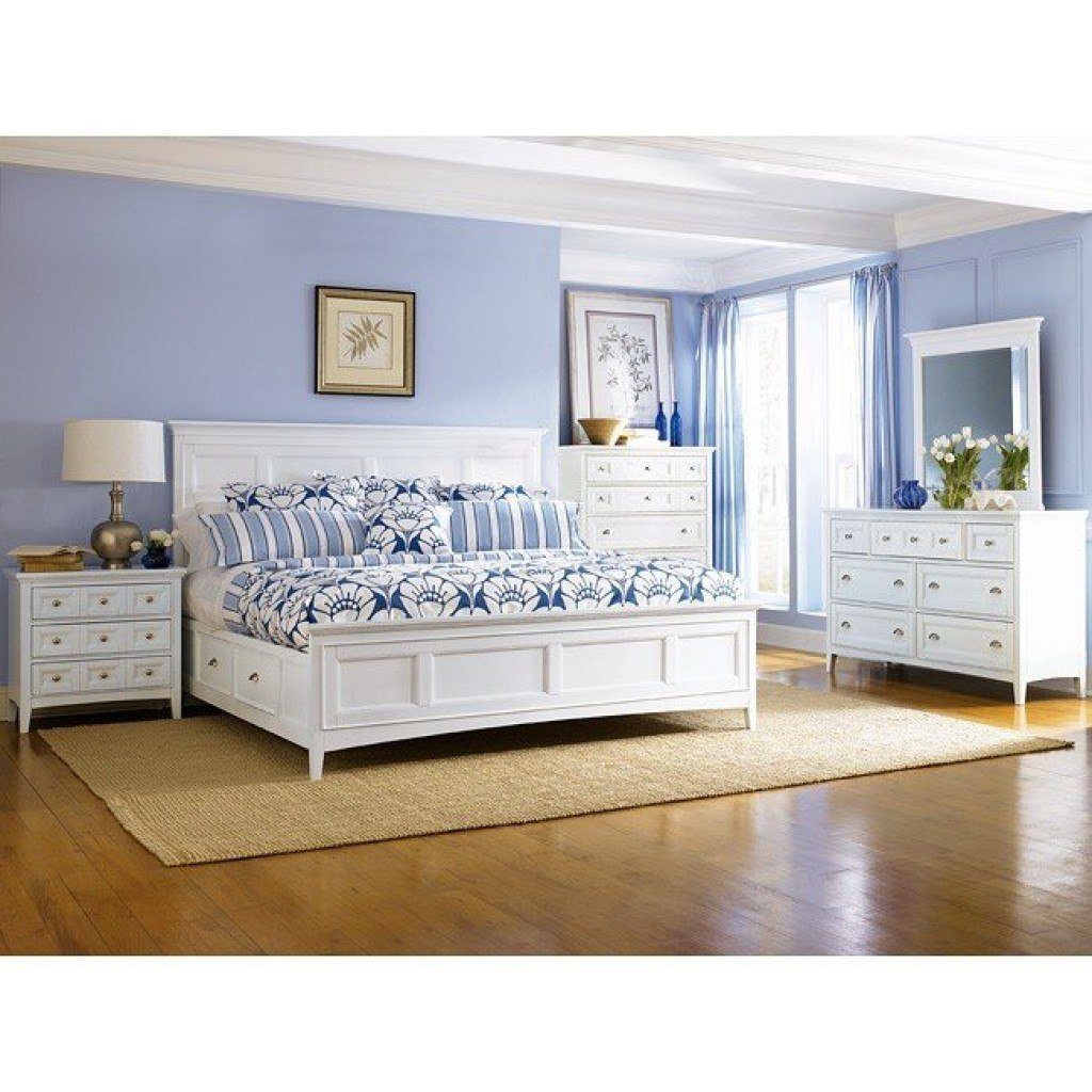Best Kentwood Storage Bedroom Set Magnussen Furniture Cart With Pictures