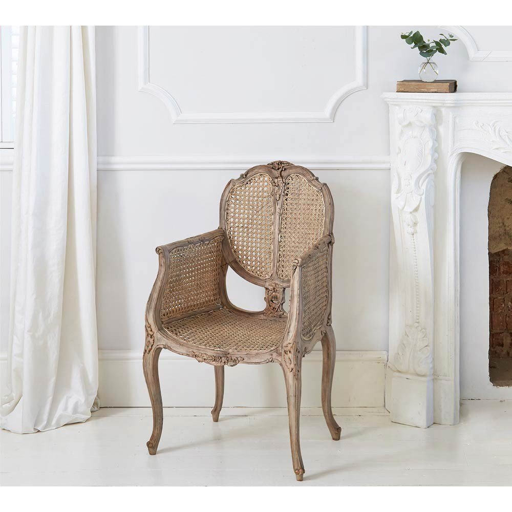 Best Chateauneuf Rustic Rattan Chair Bedroom Chair With Pictures