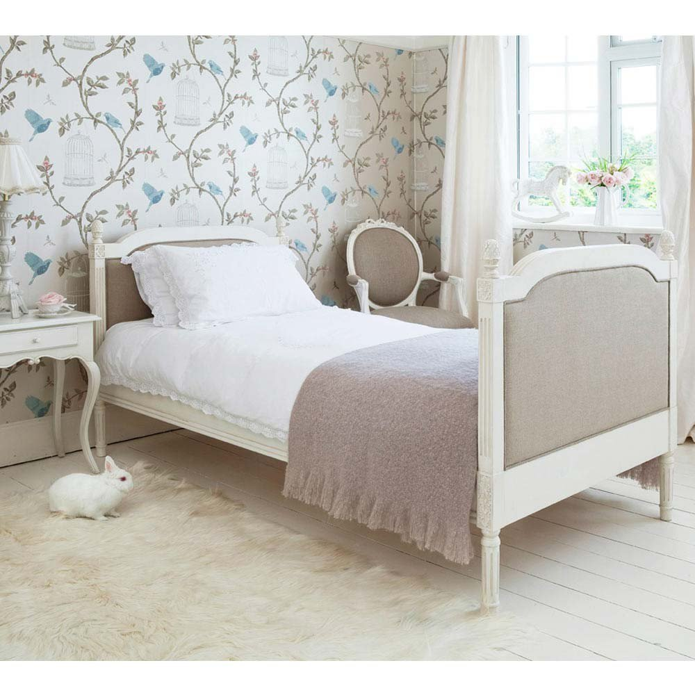 Best Provencal Linen Single Bed Luxury Bed With Pictures