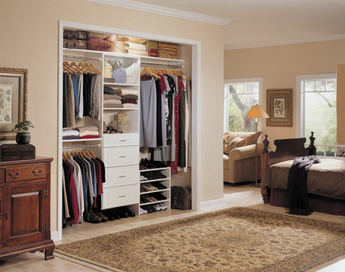 Best Open Wardrobe – 39 Examples Like The Wardrobe Without With Pictures