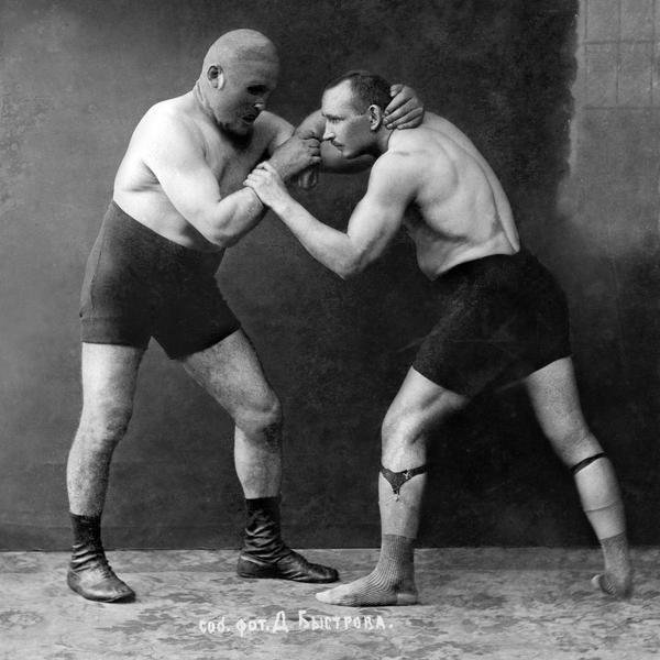 Best Vintage Wrestler Russian Wrestlers Art Print Global Gallery With Pictures