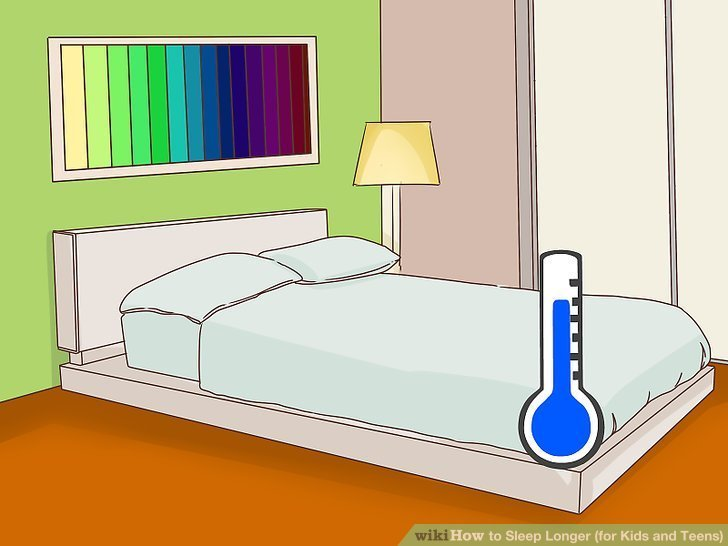 Best 4 Ways To Sleep Longer For Kids And Teens Wikihow With Pictures