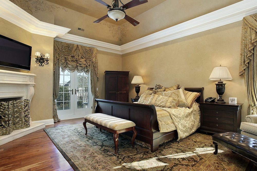Best 75 Impressive Master Bedrooms With Fireplaces Photo Gallery With Pictures