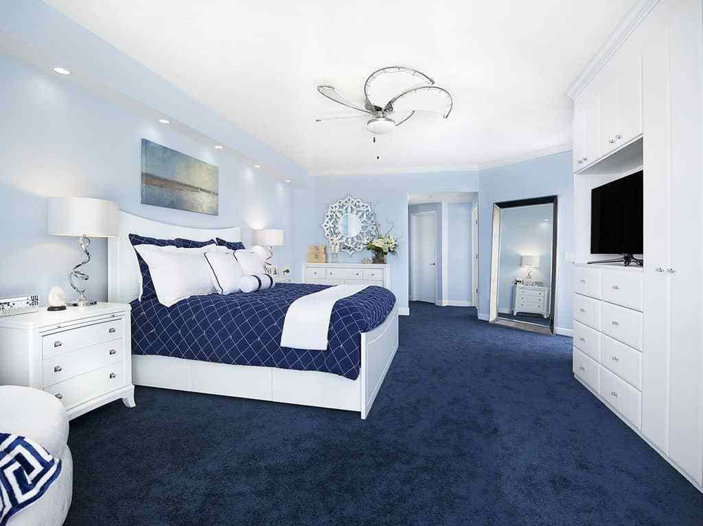 Best 50 Blue Master Bedroom Ideas For 2019 With Pictures