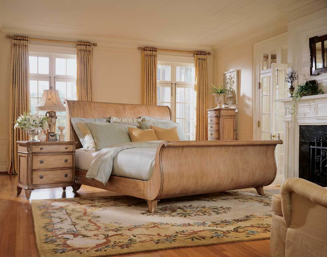Best American Drew Jessica Mcclintock Home Sleigh Bedroom With Pictures
