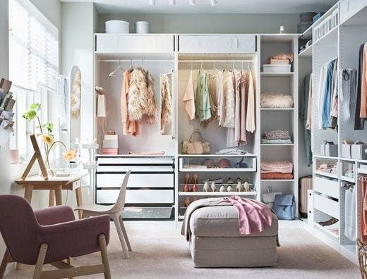 Best Bedroom Storage Solutions Ikea With Pictures