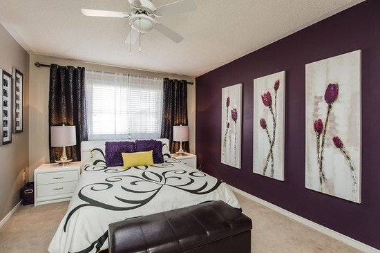 Best Purple Flowers In The Bedroom Interiors By Color With Pictures