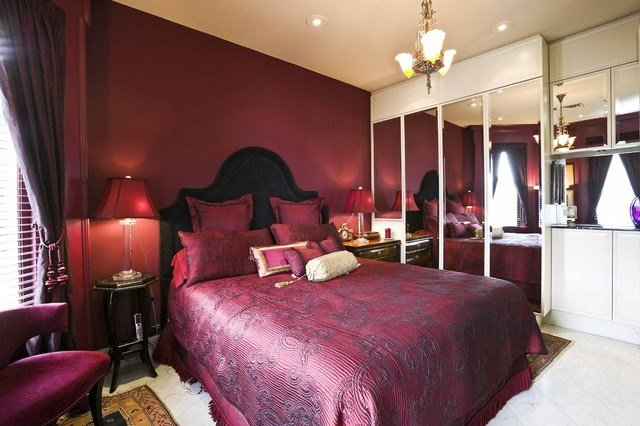 Best Master Bedrooms In Rich Red Hues Interiors By Color With Pictures