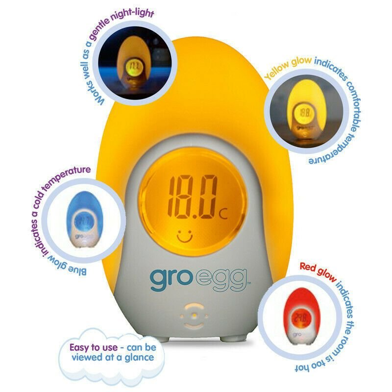 Best Gro Egg 1 Baby Room Thermometer Night Light Room With Pictures