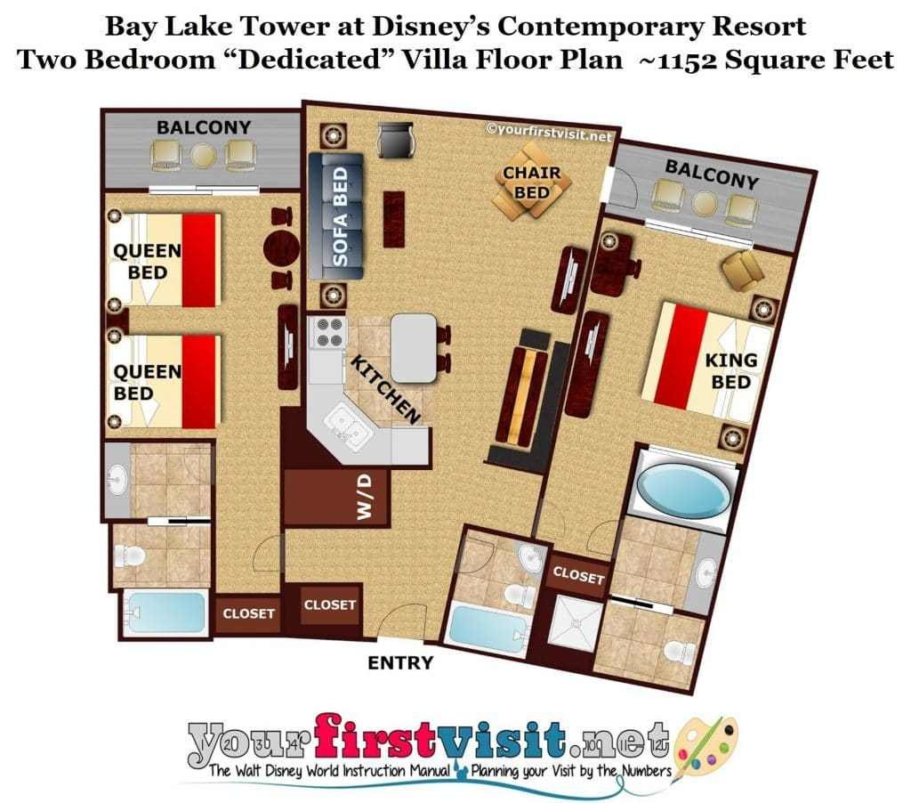 Best Theming And Accommodations At Bay Lake Tower At Disney's Contemporary Resort Yourfirstvisit Net With Pictures