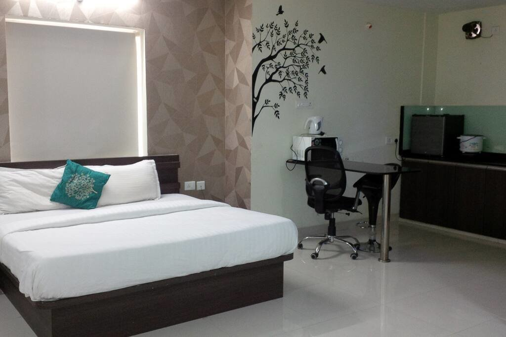 Best 1 Bhk Fully Furnished Studio Flat Serviced Apartments With Pictures