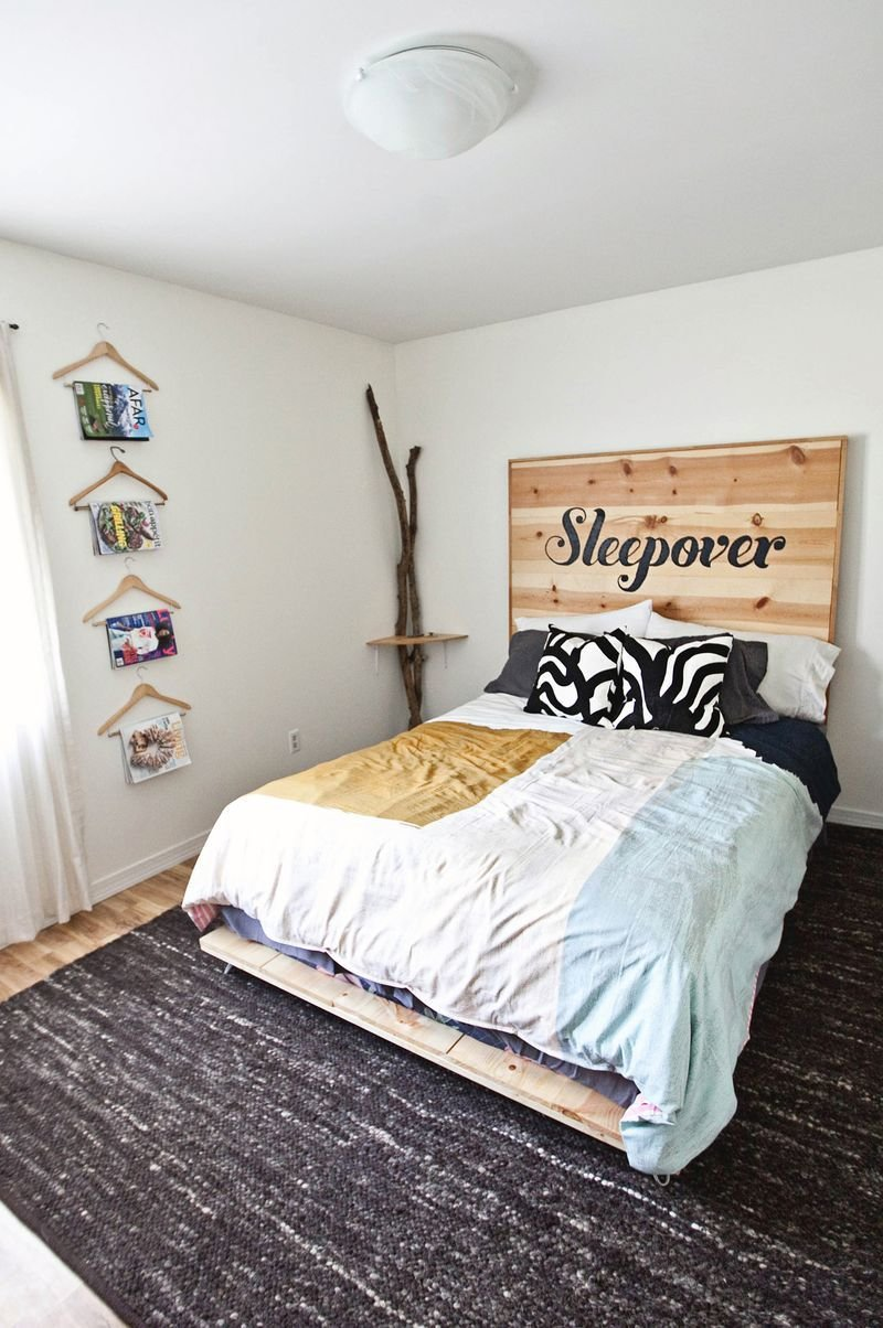 Best Diy Simple Bed Frame A Beautiful Mess With Pictures