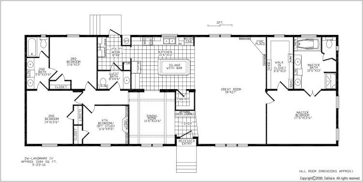 Best Floorplans For Double Wide Manufactured Homes Solitaire With Pictures