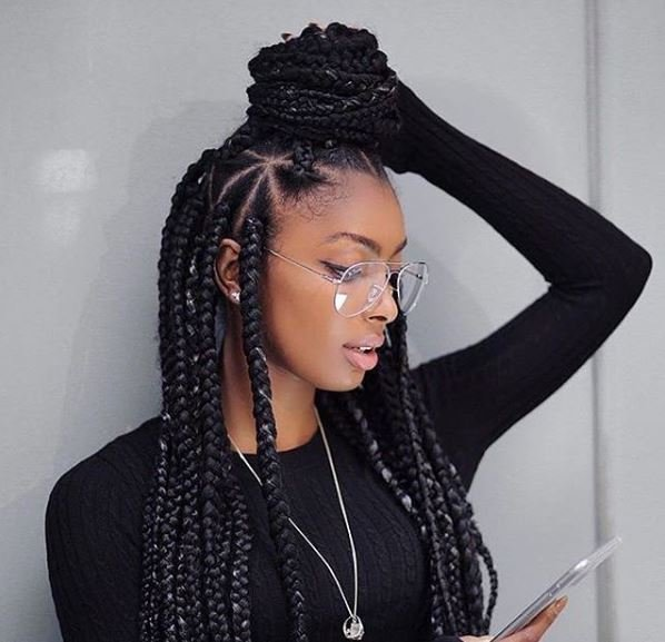 Free Braided Hairstyles For Black Women Looks You Need To Try Wallpaper