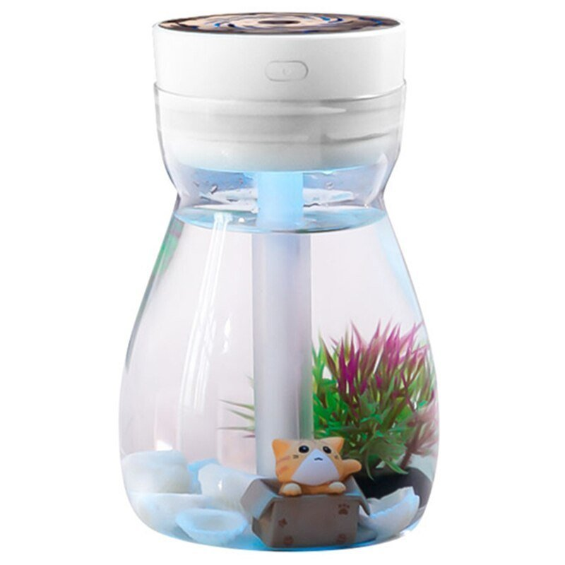 Best Cute Cool Mist Humidifier Office Bedroom Air Purifier Usb With Pictures