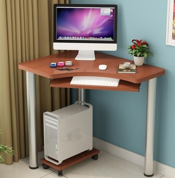 Best 80 60 74Cm Modern Computer Desk Bedroom Corner Table With Pictures