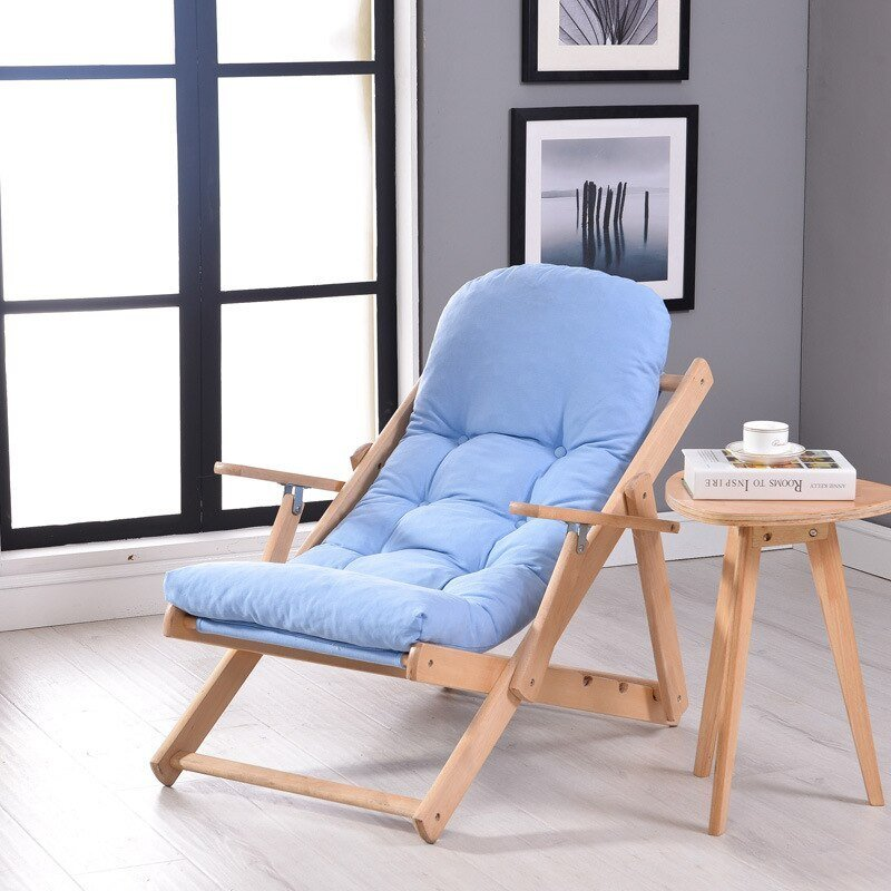 Best Soft And Comfortable Lazy Chair Wooden Foldable Reclining With Pictures