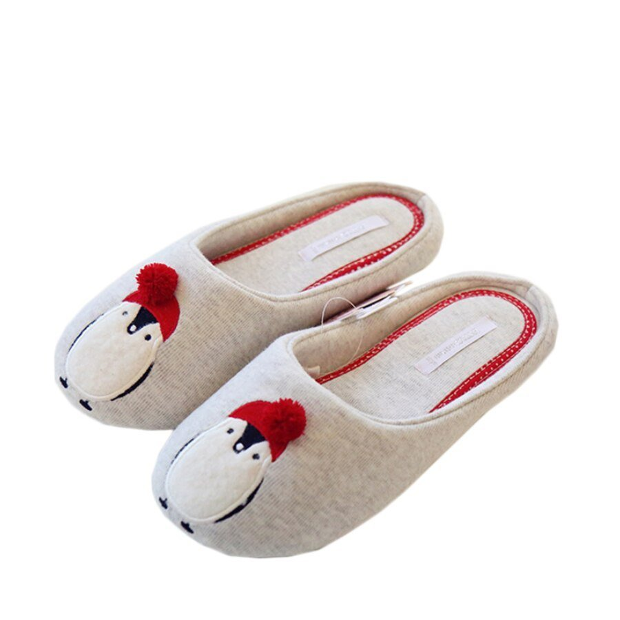 Best Cotton Cute Slippers Women Penguin Animal Home Slippers With Pictures
