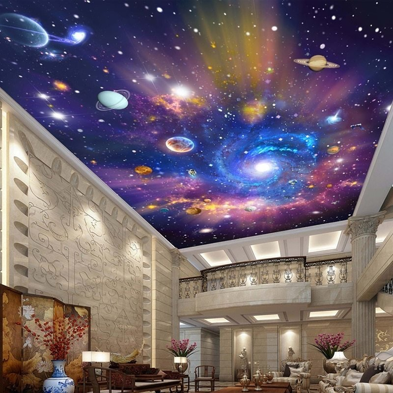 Best Custom 3D Photo Wallpaper Star Universe Galaxy Room With Pictures