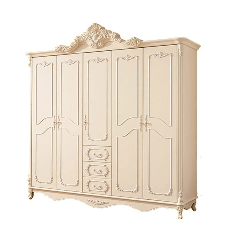 Best European Style Bedroom Furniture Five Door Armoire White With Pictures