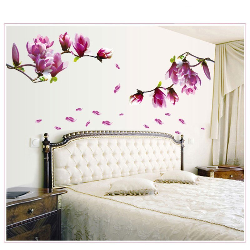Best 1Pcflower Wall Sticker 3D Vinyl Wall Decals Living Room With Pictures