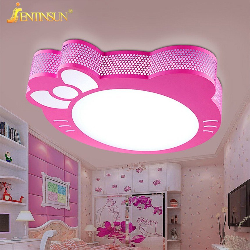 Best New Cute Kitty Led Ceiling Light Lamp For Simple Creative With Pictures