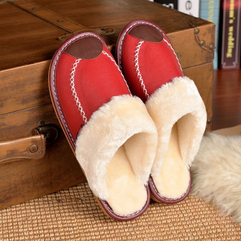 Best Online Buy Wholesale Sheepskin Slippers From China With Pictures