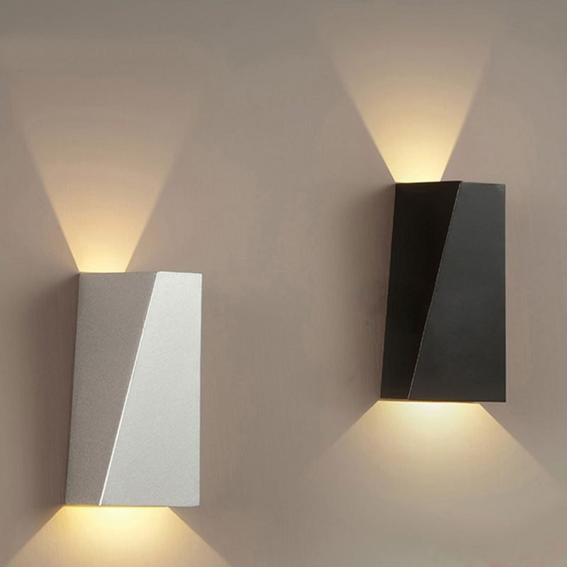 Best 10W Mordern Led Wall Light Dual Head Geometry Wall Lamp With Pictures