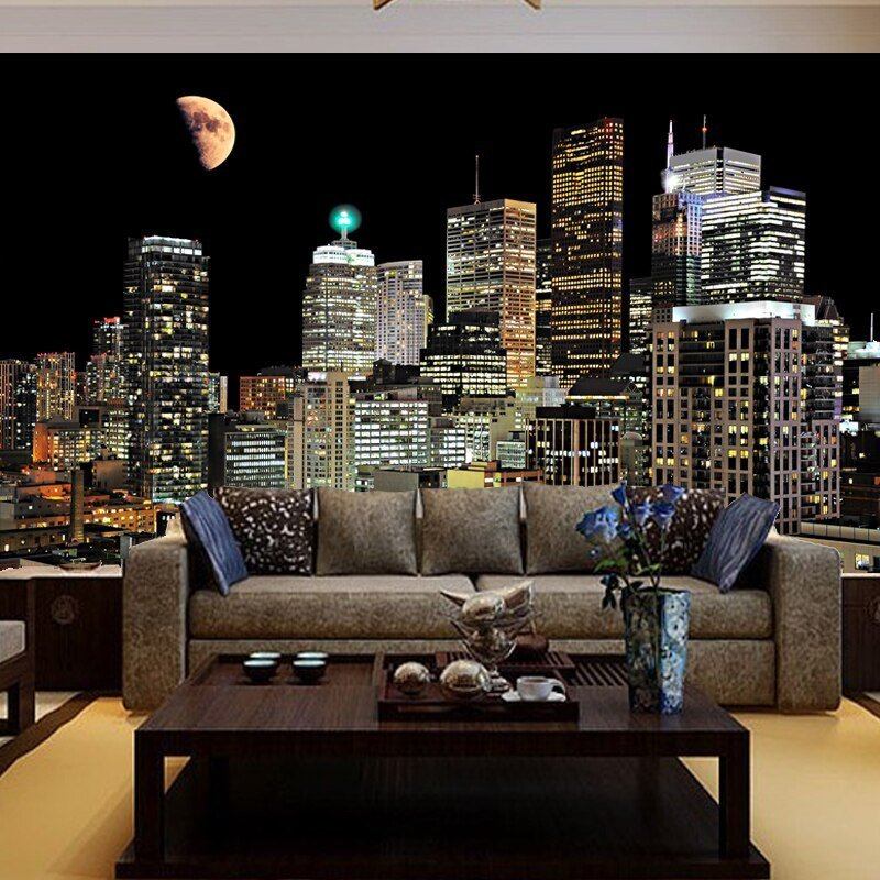 Best Free Shipping Living Room Tv Background Wallpaper Bedroom With Pictures