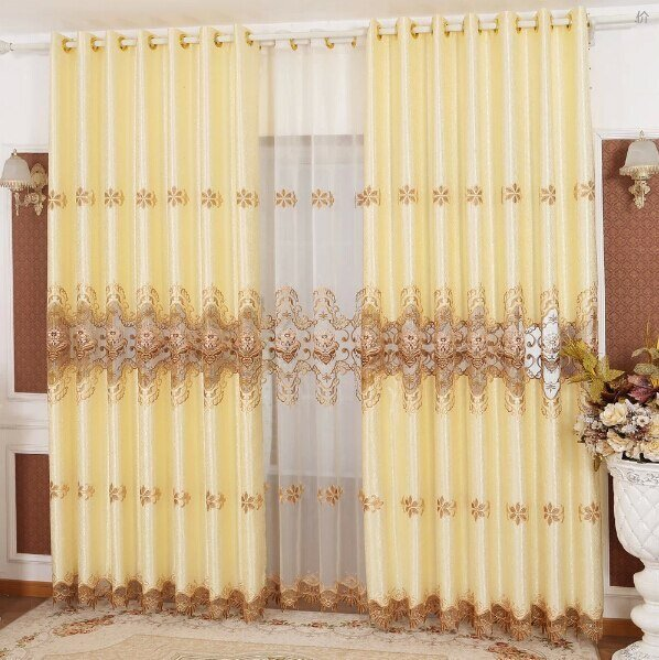 Best Aliexpress Com Buy Hot Sale Luxury Curtains For Living With Pictures