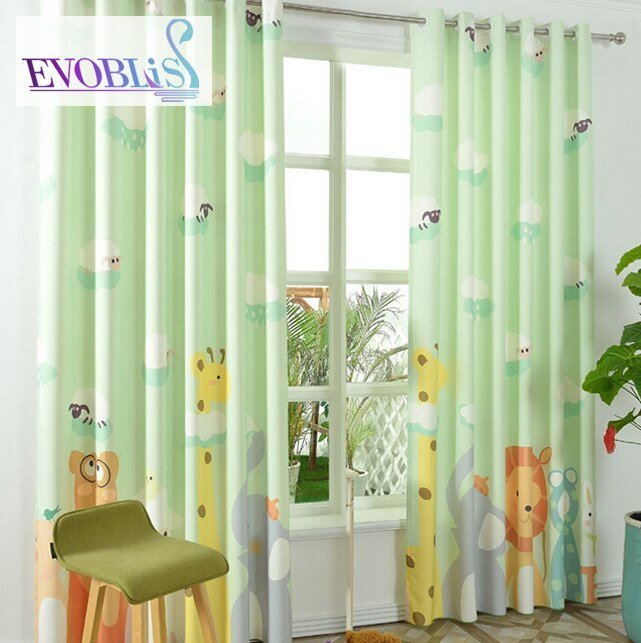 Best Aliexpress Com Buy Modern Green Curtains For Bedroom With Pictures