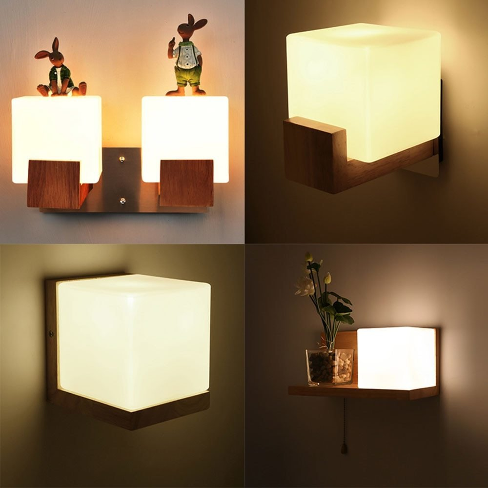 Best Wall Light Led Wall Mounted Bedside Reading Lamps 110 220V With Pictures